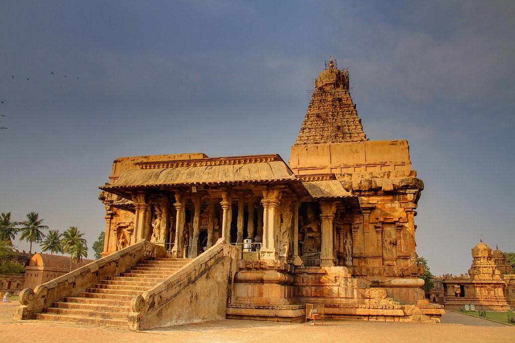 Tanjore temple  Photographed is Brahadeeswara temple
