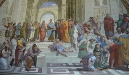 La scuola di Atene, Raffaello
