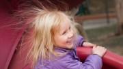 bad hair day little girl