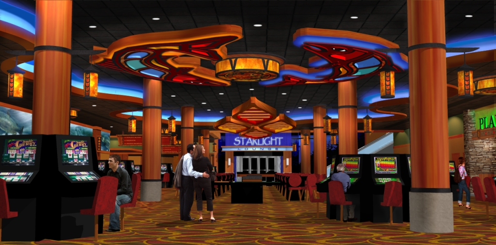 Themed Casino Interior Design  Casino Design Rendering