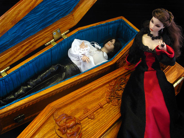 New luxurious coffin in 16 scale  Flickr  Photo Sharing