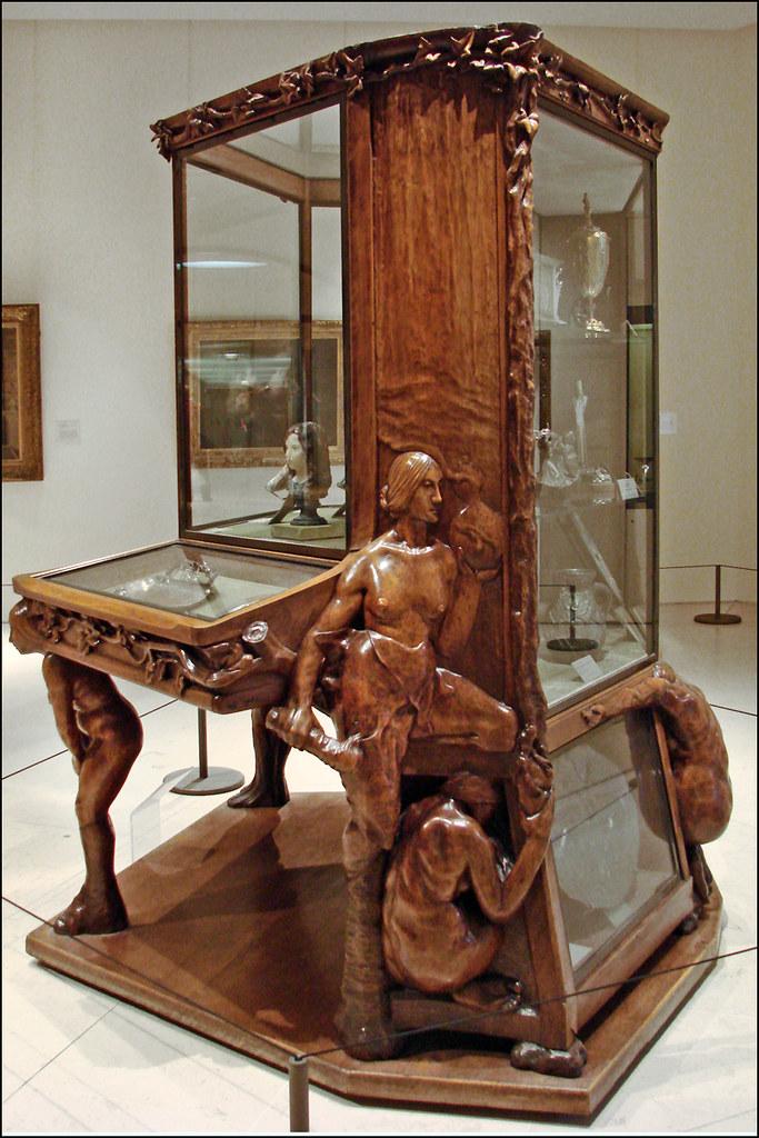 Meuble De Franois Rupert Carabin Muse Du Petit Palais