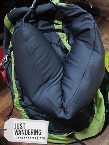 Muji travel pillow  nina  Flickr