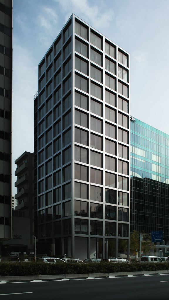 Cubic Lattice Building Forum Building フォーラムビルディング