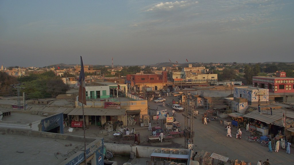 The Town Of Mithi In The Thar Desert Sindh Pakistan Ja