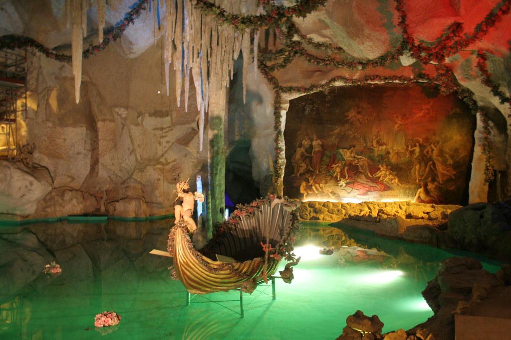 Venus Grotto In Linderhof Palace Venus Grotto In