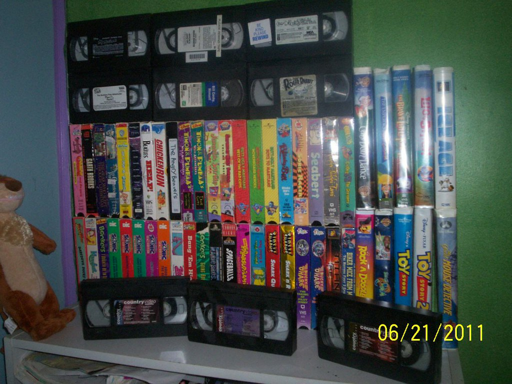Rock Lee Wallpaper 3d Vhs Collection Most Of The Vhs Tapes I Own This Doesn T