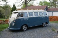 67 vw bus roof rack | full on shot of the roof rack after ...