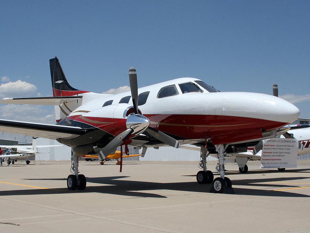 N550BE Fairchild Swearingen Merlin 3 Western Aviators
