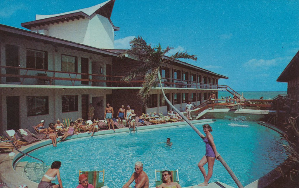 The Castaways  Miami Beach Florida  Directly on the