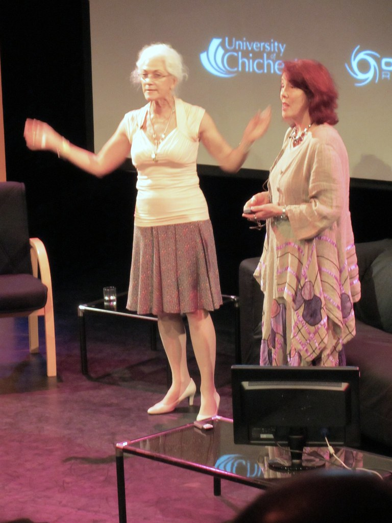 Avengers 50th Linda Thorson And Cyd Child 1 Linda