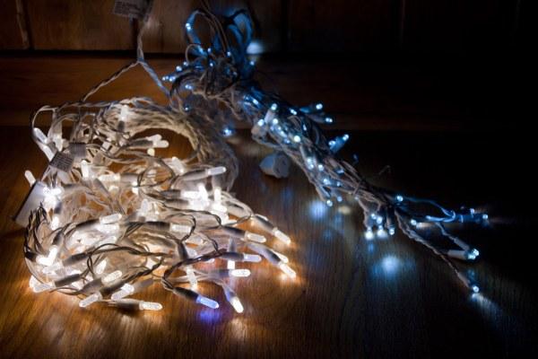 Warm vs Cool White led Christmas lights I bought new LED