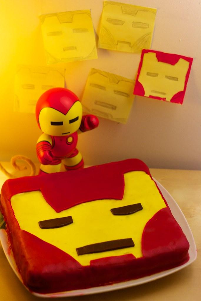 Iron Man Cake Maxime Dehaye Flickr