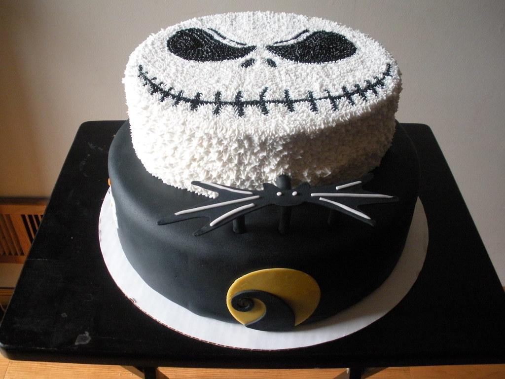 Jack Skellington Cake 2