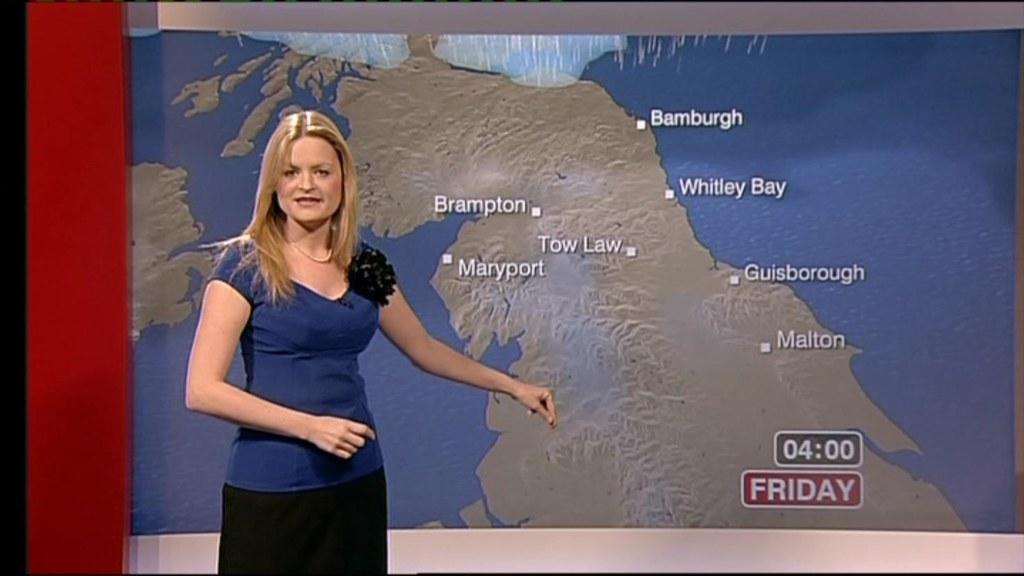 Hannah Bayman BBC Weather Girl Look North Steve172 Flickr