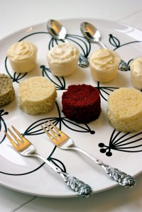 Wedding Cake Tasting Plate | Flickr - Photo Sharing!