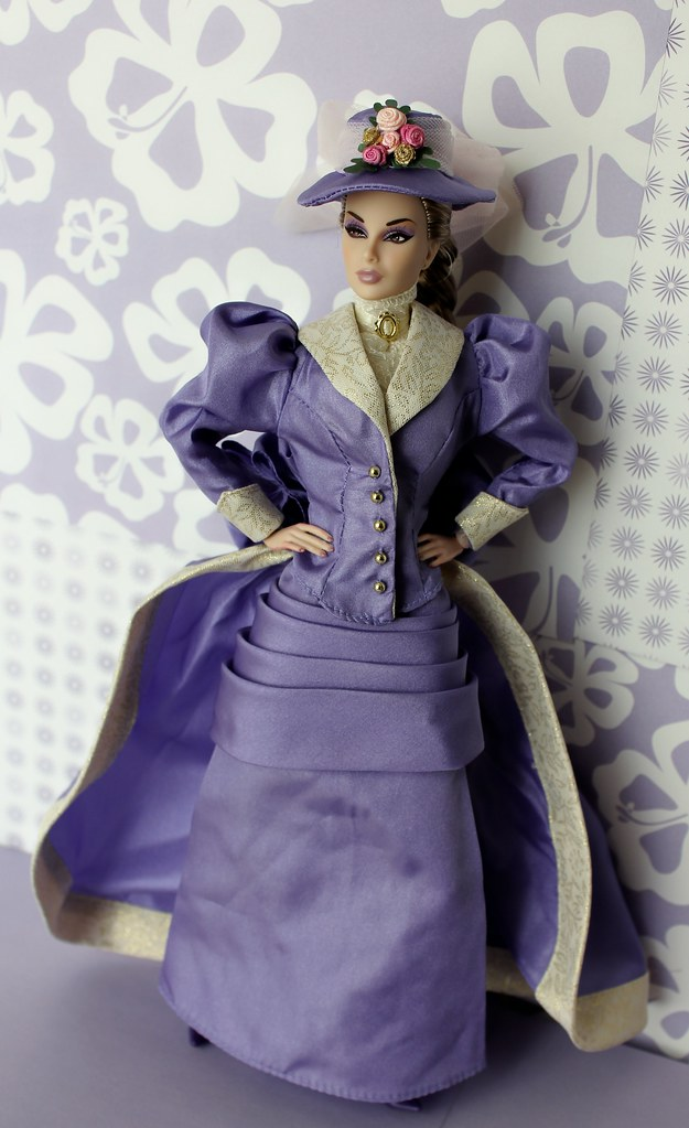 Avons Mrs PFE Albee Dania Is Modeling A Victorian Gown
