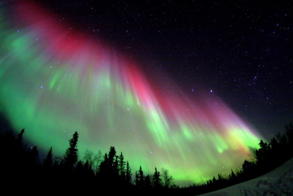 Powerful Auroral Storm  The Aurora gets cooking