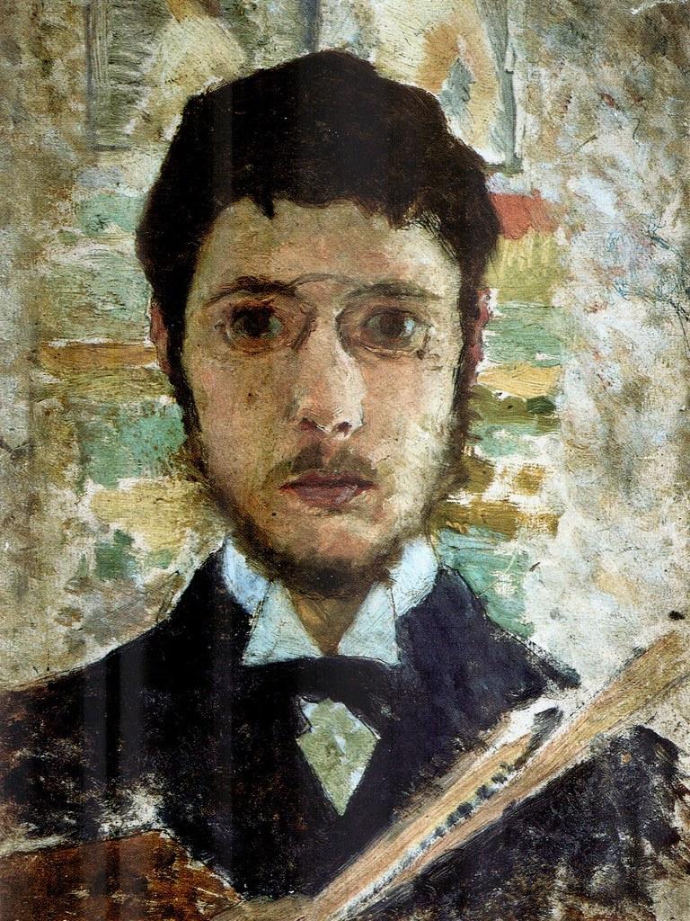 B  Pierre Bonnard  SelfPortrait 1889  Oil on board   Flickr