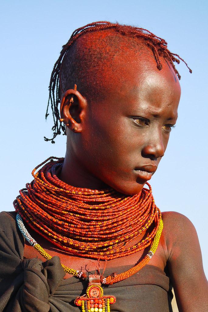 Turkana People Turkana Tribe Kenya Kenia PRESS L