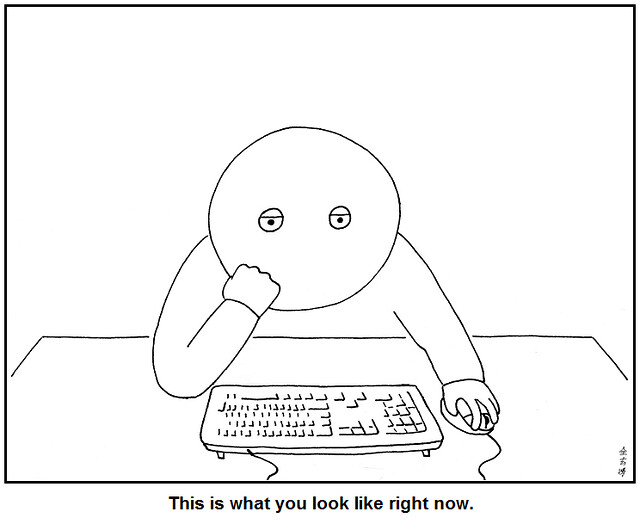 This is what you look like right now by Abstruse Goose