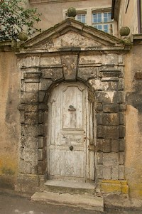 Autun - Roman door | An ancient roman door in Autun | Jane ...