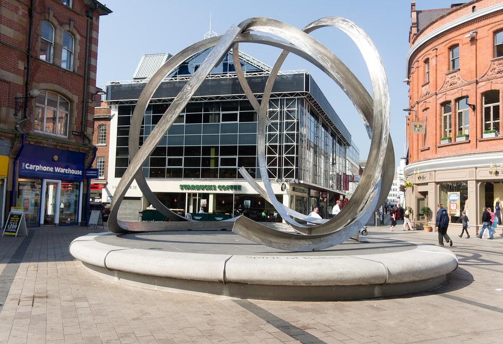 The Spirit of Belfast is a public art sculpture by Dan Geo