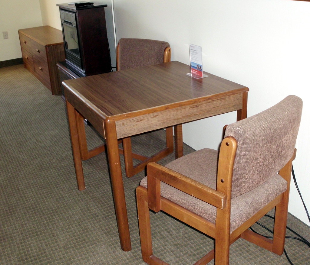 Table And Chairs In Our Motel Room  Mark  Flickr