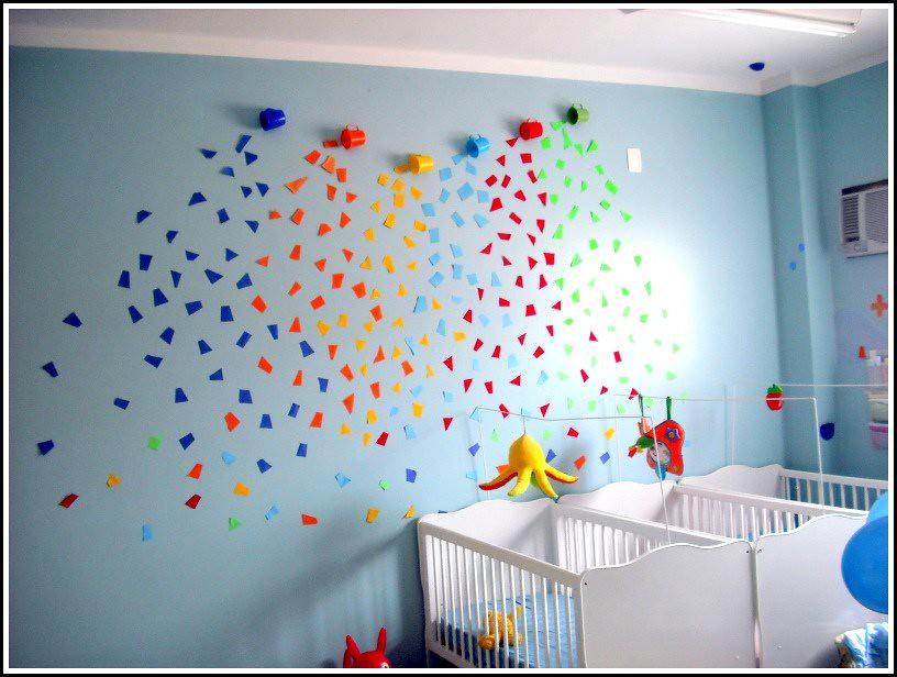Colorindo A Sala A Idia Era Fazer Uma Decorao Simples