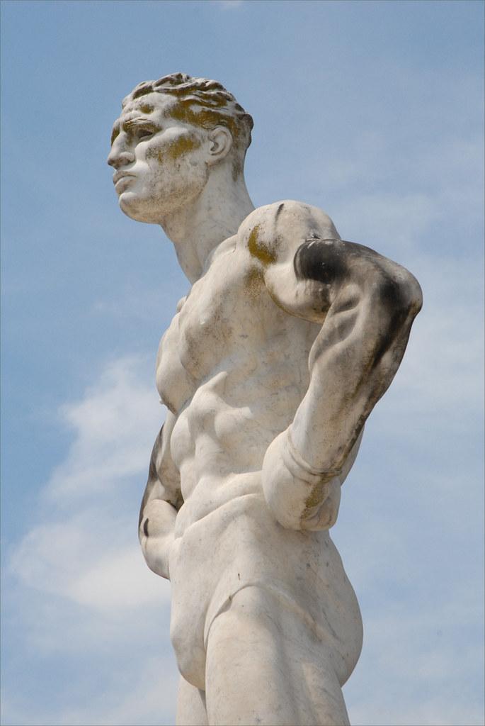 Le Foro Italico Rome Statue Du Stade Des Marbres Le