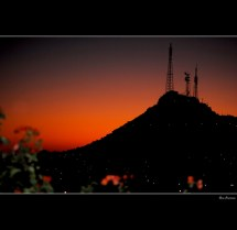 Cerro De La Campana Little Sunset Serie