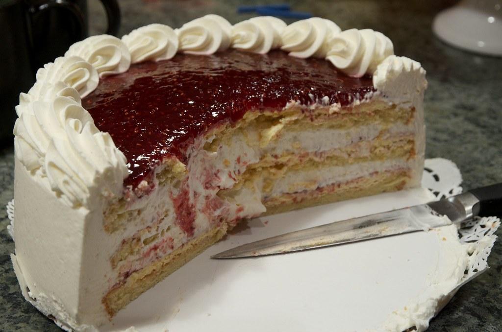 Birthday Cake 2 A Raspberry Creme Torte From Cafe Latt 233