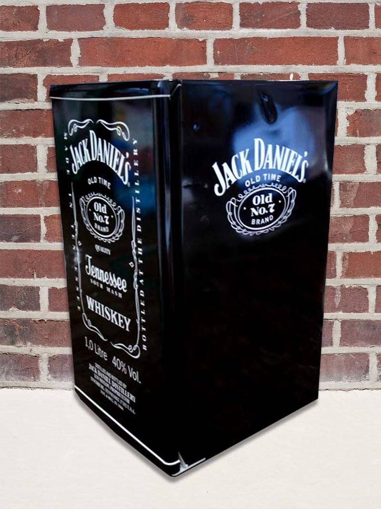 Frigobar Jack Daniels   Adesivo para geladeiras com
