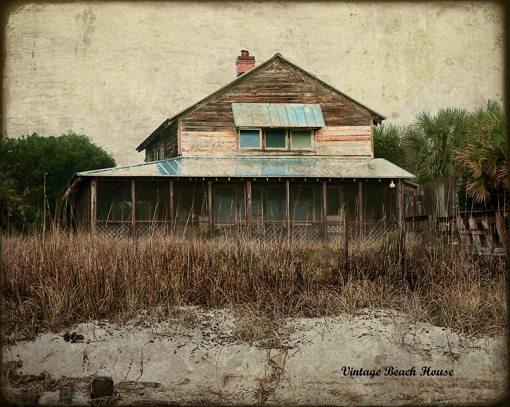 Vintage Beach House Explored  Arrogantly shabby is what
