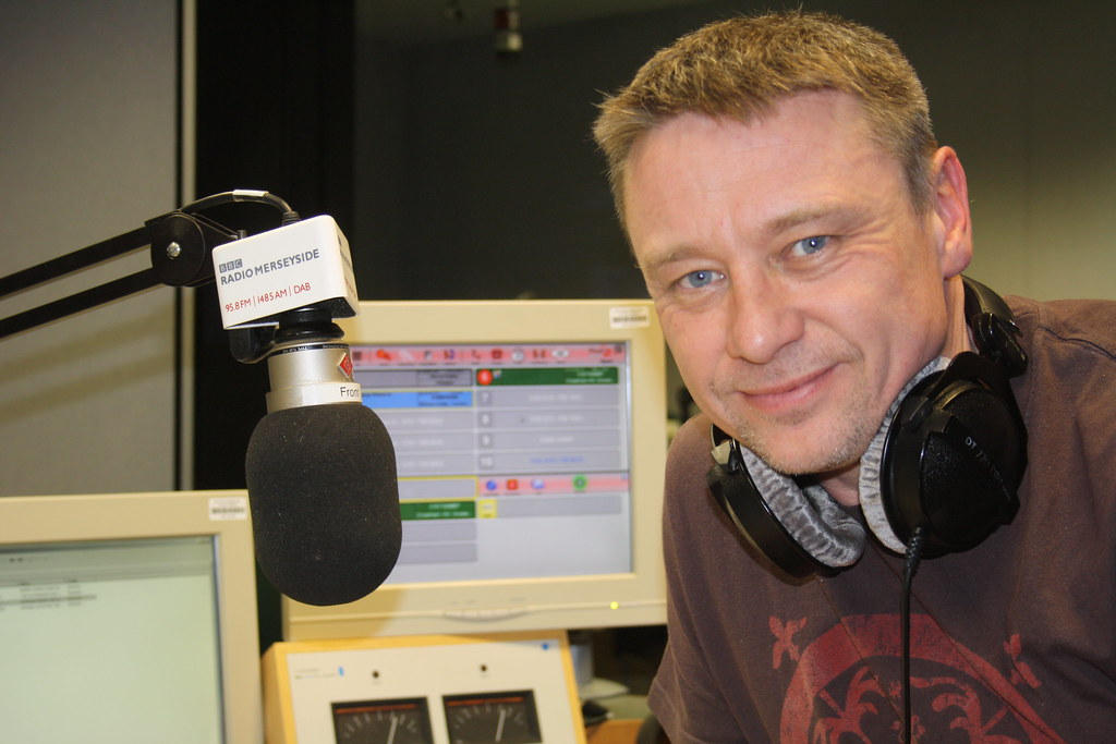 BBC Radio Merseyside Tony Snell Radio Presenter Radio