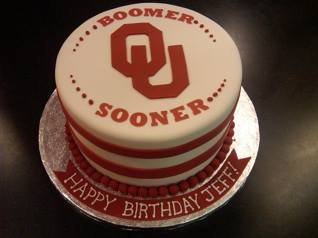 Ou Sooners Cake