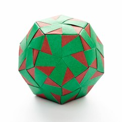 Soccer Ball Modular Origami Diagram General Electric Refrigerator Parts Dodecahedron By Tomoko Fuse Name
