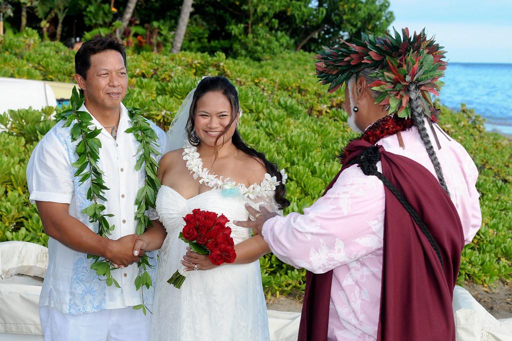 Traditional Hawaiian Wedding  Leo A  Flickr
