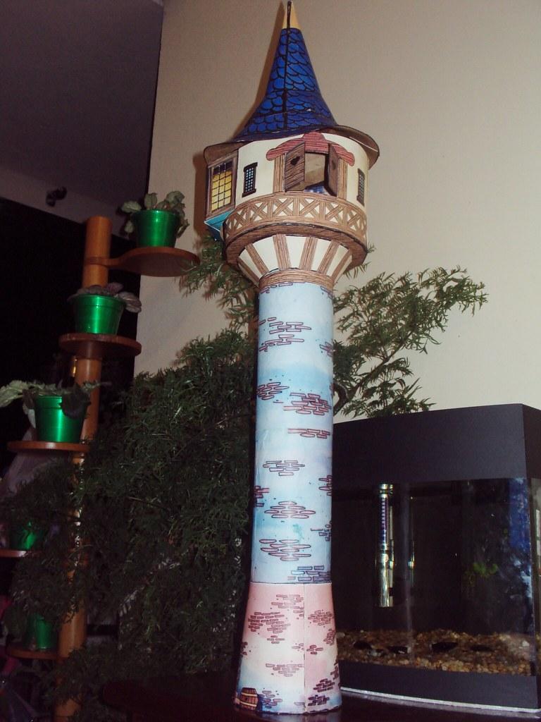 Torre da Rapunzel  Torre terminada  Tiago Hackbarth