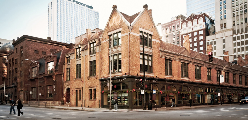 Tree Studio Building (1894), 9 East Ohio Street, Chicago