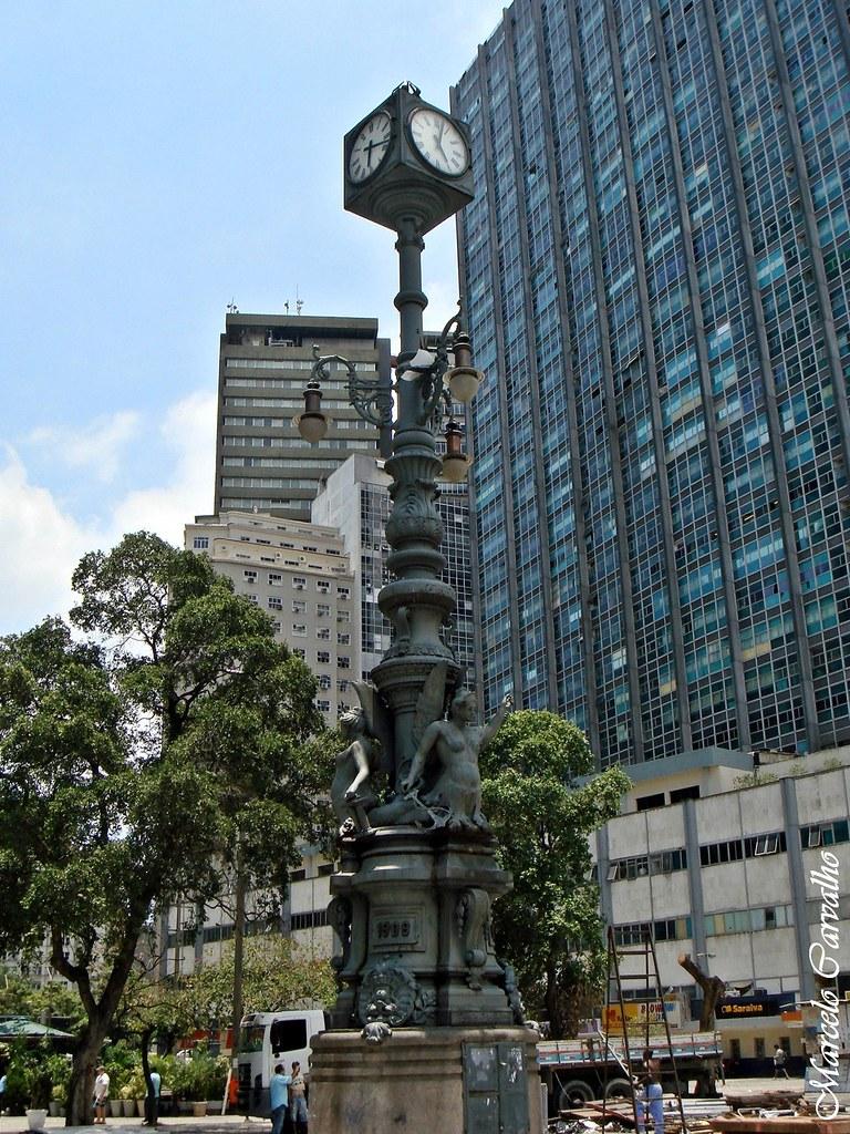 Relgio do Largo da Carioca Centro  Rio de Janeiro  Flickr