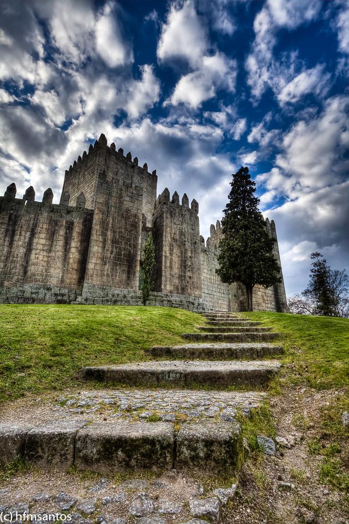 Castelo Guimares 2  Castelo de Guimares  Portugal