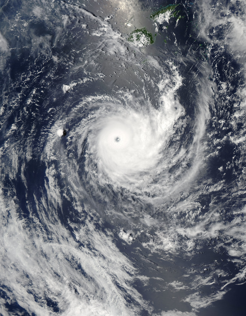 Tropical Cyclone Wilma off Fiji  NASA image acquired Januar  Flickr