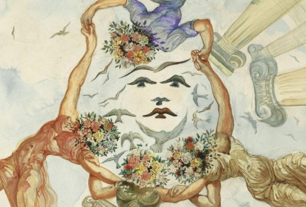 Dance Wallpaper 3d D Salvador Dali Dance Of The Flower Maidens 1942