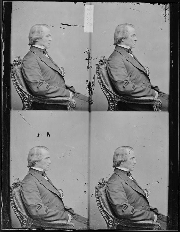 Hon Andrew Johnson Tenn President US Portrait Learn