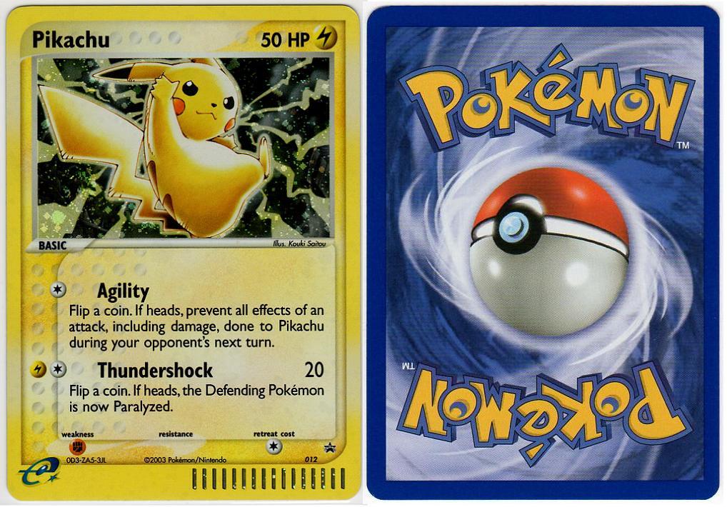 2003November EX Collectors Tin  Name Pikachu Release