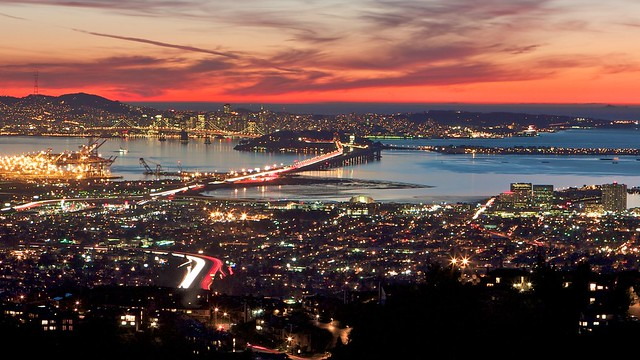 San Francisco Bay Area View from the Oakland Hills