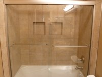 Shower with recessed shelves | Shower with recessed ...