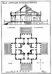 Villa Rotunda: plan | Other title: Villa Capra Creator ...