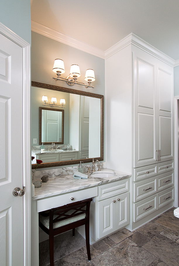 Makeup Area Raymac Remodeling Bathroom Remodel With